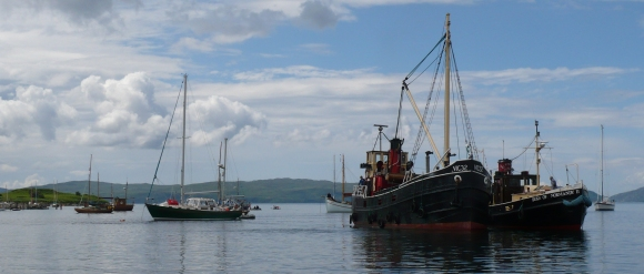 Puffers at Crinan